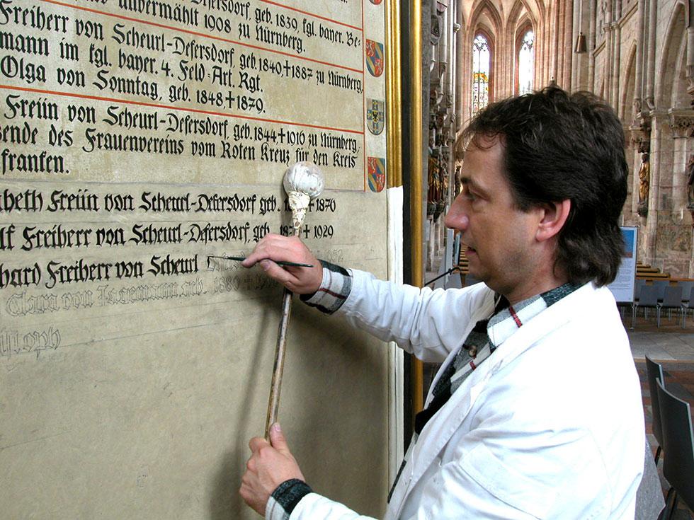 Schriftgestaltung in Nürnberg Reiner Paul