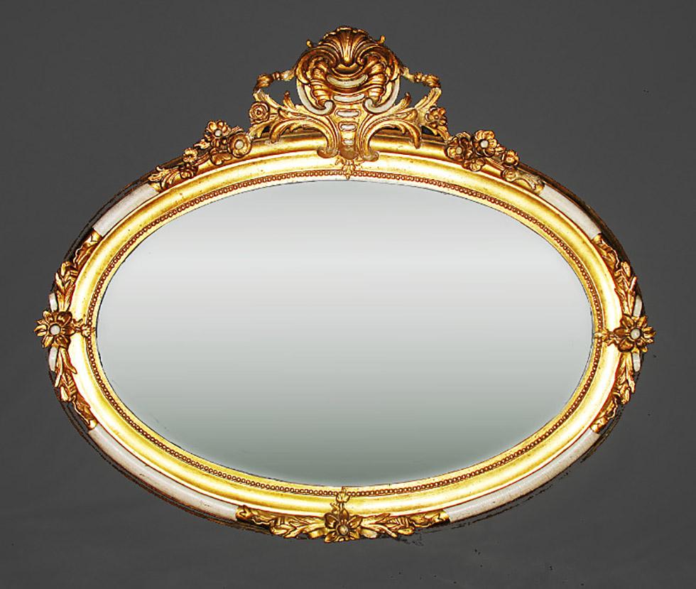 Vergoldung von Barockspiegel