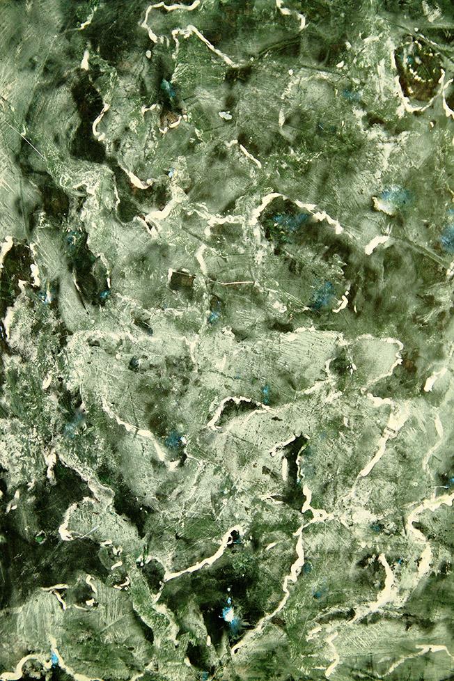 Imitation von grünem Marmor