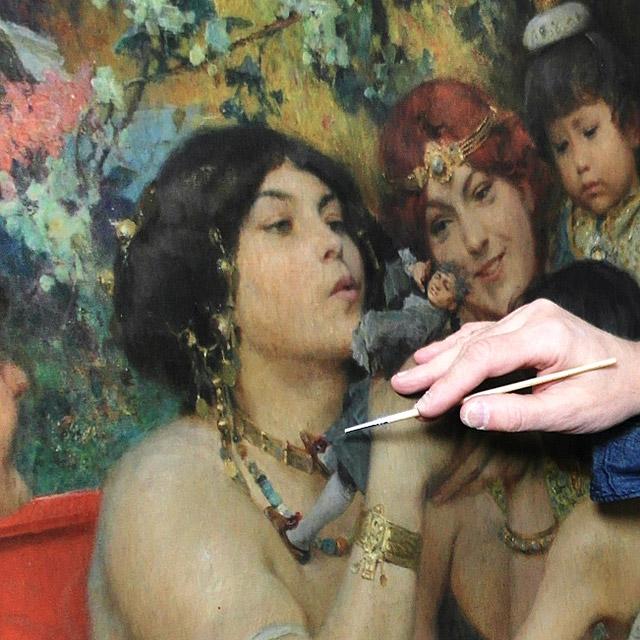 Restaurierung Gemälde